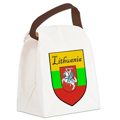 Lithuania-transp.png Canvas Lunch Bag