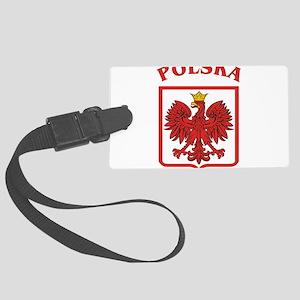 Polskaeagleshield Large Luggage Tag