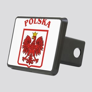 Polskaeagleshield Rectangular Hitch Cover