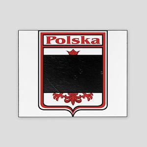 Polska Crest Shield Picture Frame