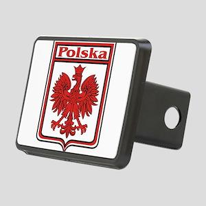 Polska Crest Shield Rectangular Hitch Cover