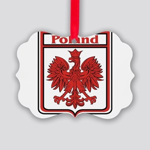 Poland Shield / Polska Picture Ornament