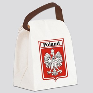 Poland-shield Canvas Lunch Bag