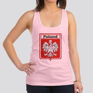 Poland-shield Racerback Tank Top