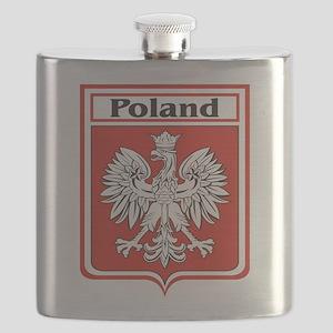 Poland-shield Flask