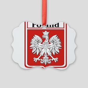 Poland-shield Picture Ornament
