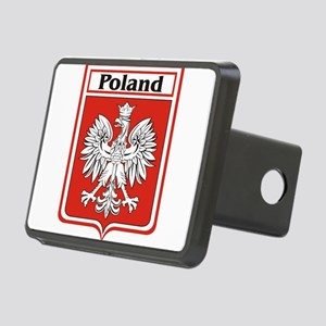 Poland-shield Rectangular Hitch Cover
