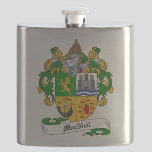 MacNeil Family Crest Flask