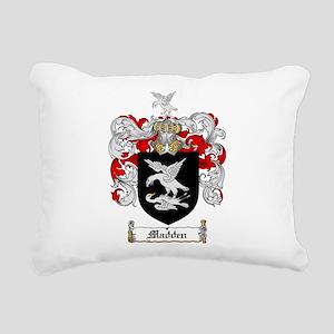 Madden Family Crest Rectangular Canvas Pillow