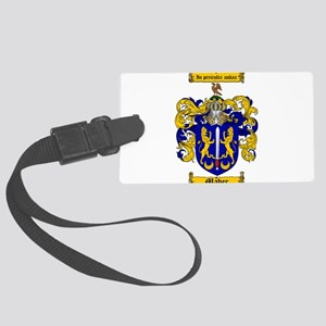 Maher Family Crest Large Luggage Tag