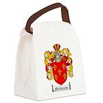 Maldonado Family Crest Canvas Lunch Bag