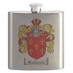 Maldonado Family Crest Flask