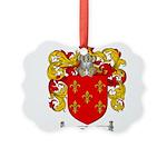 Maldonado Family Crest Picture Ornament
