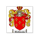 Maldonado Family Crest Square Sticker 3