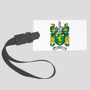 Malone Family Crest Large Luggage Tag