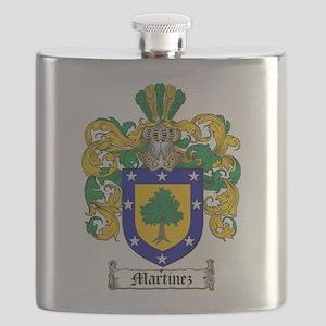 Martinez Family Crest Flask