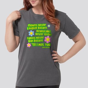 Clowns Never Laughed Before Womens Comfort Colors