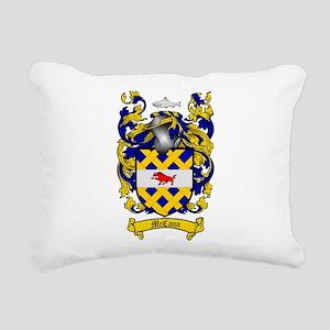 McCann Family Crest Rectangular Canvas Pillow