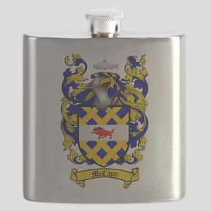 McCann Family Crest Flask