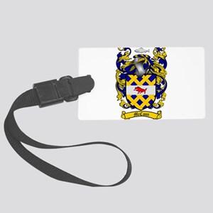 McCann Family Crest Large Luggage Tag