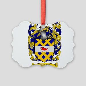 McCann Family Crest Picture Ornament
