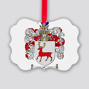 McCarthy Family Crest Picture Ornament