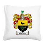 McCurdy Family Crest Square Canvas Pillow
