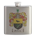 McCurdy Family Crest Flask