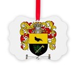 McCurdy Family Crest Picture Ornament