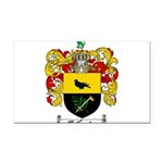 McCurdy Family Crest Rectangle Car Magnet