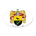 McCurdy Family Crest Oval Car Magnet