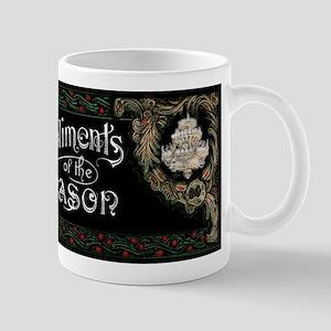 Phantom of the Opera Christmas Greeting Mugs