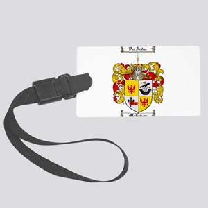 McIntyre Family Crest Large Luggage Tag