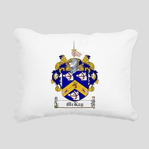 McKay Family Crest Rectangular Canvas Pillow