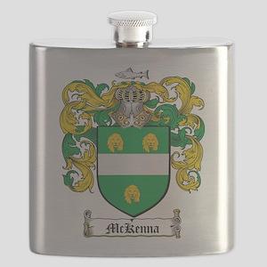 McKenna Family Crest Flask