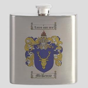 McKenzie Family Crest Flask