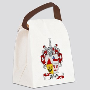 McLean Family Crest Canvas Lunch Bag