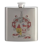 McLean Family Crest Flask