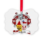 McLean Family Crest Picture Ornament