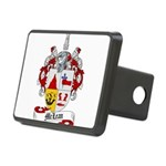 McLean Family Crest Rectangular Hitch Cover