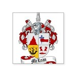McLean Family Crest Square Sticker 3