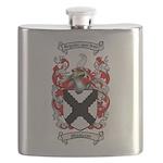 Middleton Family Crest Flask