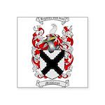 Middleton Family Crest Square Sticker 3