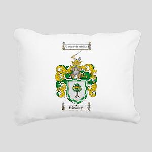 Mooney Family Crest Rectangular Canvas Pillow