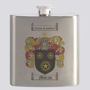 Moran Family Crest Flask