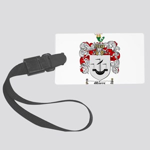Myers Family Crest Large Luggage Tag