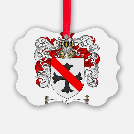 Nelson Family Crest Ornament