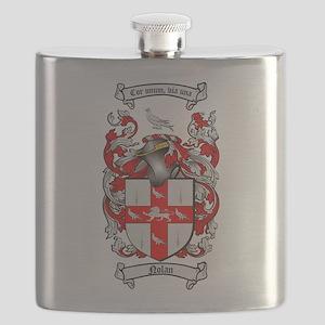 Nolan Family Crest Flask