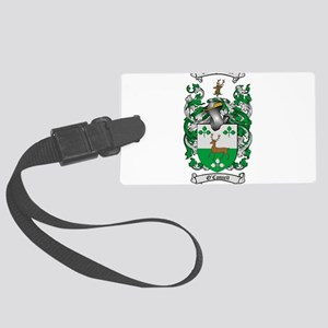 O'Connell Family Crest Large Luggage Tag