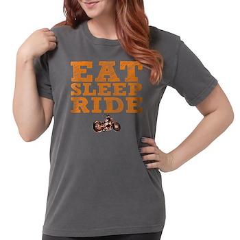 Eat Sleep Ride Womens Comfort Colors Shirt